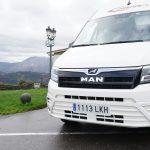 El primer microbús TGE Intercity de MAN supera los 20.000 km en manos de Autocares Cabranes