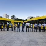 Guaguas Municipales renueva su flota con diez nuevos híbridos
