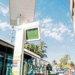 Paneles solares para las pantallas de información de las paradas de autobuses